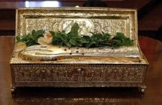 The relics of St. George was taken to the All Saints Church in Kiev