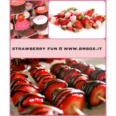 Strawberry Party @ www.bmbox.it #bitemebox #bmbox #party #theme #kids #strawberry #pink #follow #festa #compleanno #homedelivery #sweettable #decoration #fun #style #birthday #bambini
