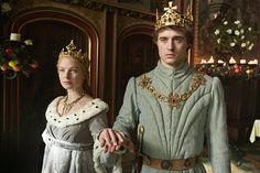 The White Queen   Rebecca Ferguson as Elizabeth Woodville and Max Irons as King Edward IV