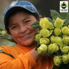 Fair Trade Romance? Why Fair Trade Flowers Matter on Valentine's Day. #FairTrade #ValentinesDay #flowers #roses #empowerment