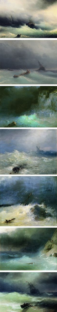 The series of events that occur in the beginning of The Tempest. This image shows how violent the storm was. Also, since the pictures are taken from various perspectives, one could relate that to the numerous types of characters in the play and their perspectives on life, social rankings, freedom, slavery, etc.