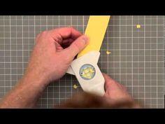Martha Stewart Crafts Punch Techniques Demo