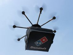 Look what this drone was used for! Domino's is starting to deliver pizza in New Zealand!!