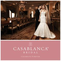 @CasablancaBridal offers a range of unique products, all customizable. Check out their latest line today.