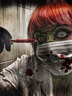 Zombie Night Nurse ....yes it is me... Come let me take care of you!