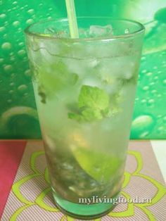 Классический безалкогольный мохито / Classical nonalcoholic mojito