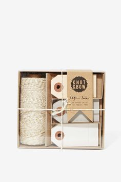 Knot and Bow Tag and Twine Box | Shop Home at Nasty Gal
