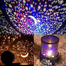 LED Starry Night Light Sky Projector Lamp Star Light Cosmos Master Kids Gift