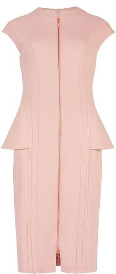 TED BAKER LONDON Siona Contoured Dress - Lyst