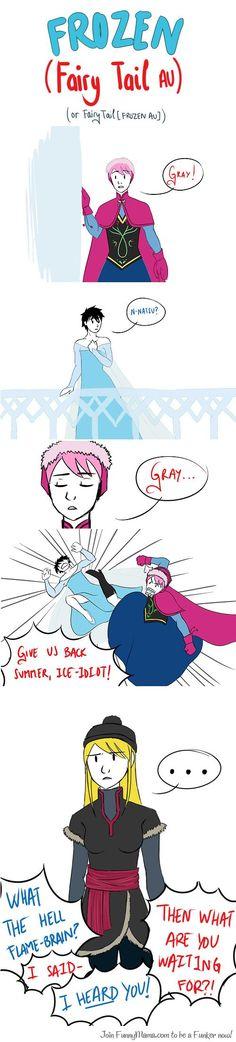 Frozen version Fairy Tail