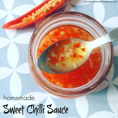 You'll be surprised by how quick and easy it is to make your own Sweet Chilli Sauce at home, and it's so much cheaper and tastier than the store-bought version!