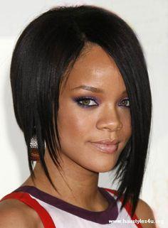 I love Rihanna's hair.