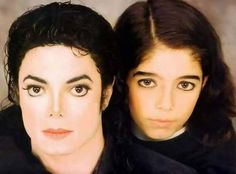 Michael Jackson was with her girl