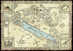 Activity map for the Vyne National Trust property. Work In New York, Jrr Tolkien, Victoria And Albert Museum, Book Activities, Vintage World Maps, Behance, National Trust, Graphic Design, Illustration