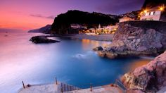 Man Made Ponta Do Sol  Madeira Portugal Sunset Wallpaper