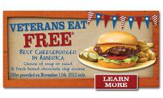 Veterans Day 2012 Restaurant Deals for Veterans