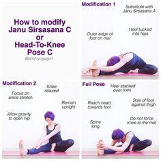 ashtangamondays how to effectively modify ardha baddha