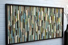 Reclaimed wood Headboard - Full Headboard - or customize a queen headboard. $780.00, via Etsy.