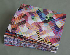 art quilt envelopes, via Flickr.  Love these!