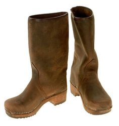 Nubuk Clog Boots by berlin27clogs.  I love these! If anyone has these, how do you like them? Are they true to size, etc?