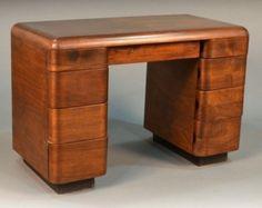 Dr. Tarr's 1940's Paul Goldman Bent Plywood Desk