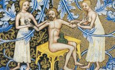 Bathing. Wenceslas Bible