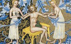 Bathing. Wenceslas Bible