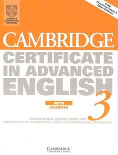 CAE Cambridge Test Book 3. With Key | Scribd