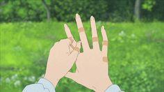 gif cute adorable sad wolf anime manga flowers animation post children gif set appreciation post ookami kodomo no ame to yuki wolf children Aesthetic Gif, Aesthetic Pictures, Aesthetic Wallpapers, Simple Aesthetic, Anime Gifs, Anime Art, Casa Anime, Wolf Children, Japon Illustration