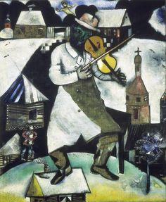 56 Beste Afbeeldingen Van Marc Chagall Expressionism