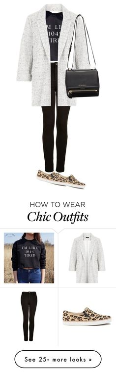 """Casual chic"" by explorer-14732036237 on Polyvore featuring Topshop, New Look, UGG Australia and Givenchy"