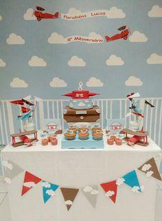 Festa aviões/ aviador