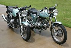 Ducati 750 GT and GT1000