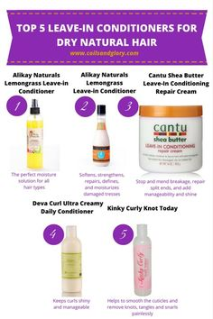 Great leave-ins for naturally curly hair