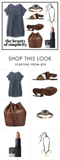 """""""Simplicity"""" by grequin ❤ liked on Polyvore featuring Vanessa Bruno, Etro, Whistles and NARS Cosmetics"""