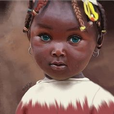 Black Girl Art, Black Women Art, Beautiful Black Women, Beautiful Children, Beautiful Babies, Most Beautiful Eyes, Lovely Eyes, Stunning Eyes, Big And Beautiful