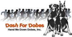 Look for Dash for Dobes 5k run fundraiser and the 1 mile pet memorial walk on Handmedowndobes.org. Doberman Rescue, Pet Memorials, Walk On, Pets, Movie Posters, Film Poster, Pet Memorial Stones, Billboard, Film Posters