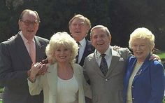 Jack Douglas, Barbara Windsor, Leslie Philips, Norman Wisdom and June Whitfield at the anniversary celebration of the Carry On films. Norman never actually appeared in a Carry On though. Jack Douglas, Top Comedians, Norman Wisdom, Barbara Windsor, 40th Anniversary, Carry On, Actors & Actresses, Films, Movies