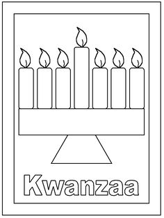 1000 images about kwanzaa on pinterest celebrations for Kwanza coloring pages