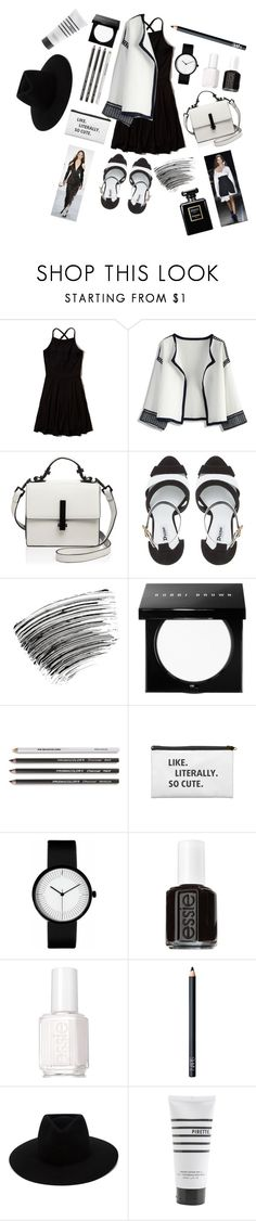 """Editor of vogue"" by briesepb ❤ liked on Polyvore featuring Hollister Co., Chicwish, Kendall + Kylie, Dune, Bobbi Brown Cosmetics, Monse, Essie, NARS Cosmetics, rag & bone and Pirette"