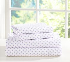 Mini Dot Sheet Set | Pottery Barn Kids