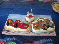 Disney Cars Cake | Disney Cars Cakes for Benjamin | Flickr - Photo Sharing!