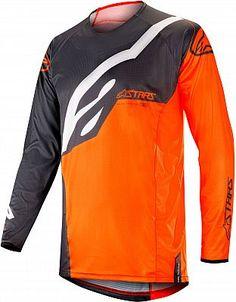 Alpinestars Grau Orange Blaze Kapuzenpullover Kleidung & Accessoires
