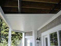 Under deck ceiling system the sealing ceiling vinyl for Garden prairie pool enclosures