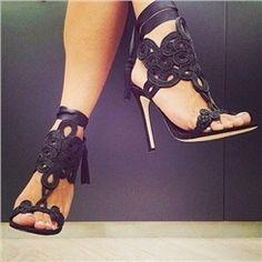 Shoespie Stiletto Dress Sandals