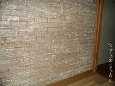 Интерьер Мастер-класс Папье-маше Моя кирпичная кладка Бумага Бумага газетная Клей фото 1