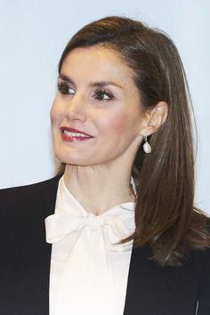 Queen Letizia of Spain attends 'Agroexpo' Agriculture International Fair on January 25, 2017 in Don Benito, Spain.