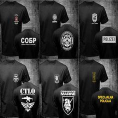 Standard Edition Polizei police cops Evolution T-Shirt S-XXXL