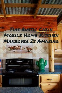 We love a good makeover! Mobile Home Kitchens, Mobile Home Living, Home And Living, Remodeling Mobile Homes, Home Remodeling, Mobile Home Repair, Mobile Home Makeovers, Home Repairs, Custom Cabinetry