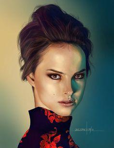 Digital Portraits by Laggyzaki